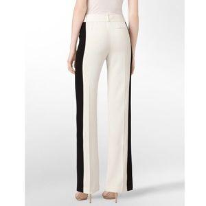 NWT Calvin Klein black and white dress pants